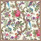 Шелковый платок с печатью